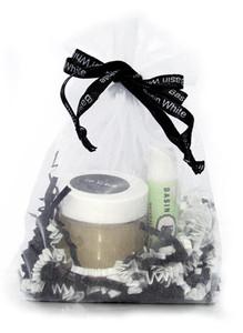 Basin White Lip Care Gift Bag