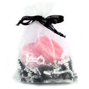Basin White Shampoo & Conditioner Bar Gift Bag