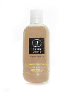 Almond Coconut Shower Gel (Basin White)