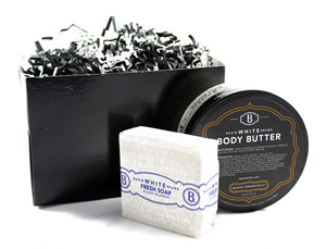 Basin White Body Butter Gift Box