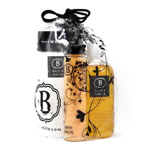 Basin White Moisturizer Gift Bag