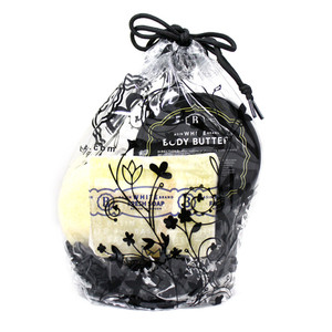 Basin White Body Butter Gift Bag