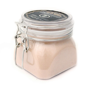 Almond Shea Salt Scrub (Basin White)