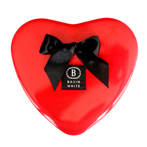 Valentine Heart Gift Box (Basin White)