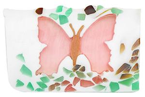 Butterfly vegetable glycerin soap