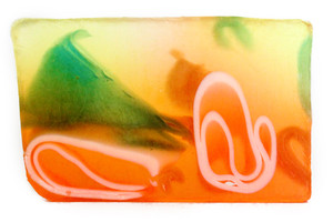 Fresh Cut Tropical Papaya Soap