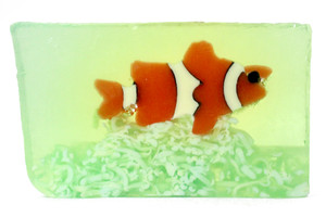 Fresh Cut Clownfish Soap