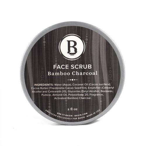 Bamboo Charcoal Face Scrub