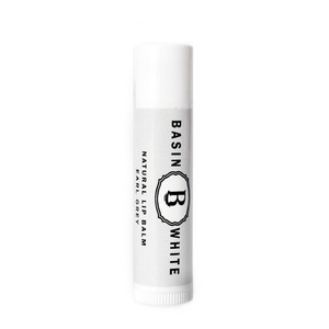 Earl Grey Lip Balm (Basin White)