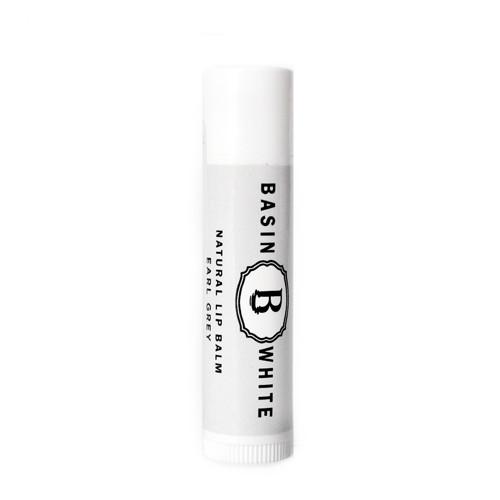 Earl Grey Lip Balm (Basin White)