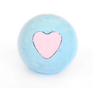 Blue Heart Bath Bomb