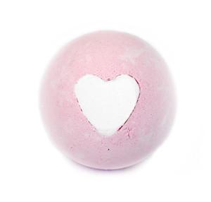 Pink Heart Bath Bomb