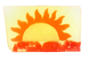 Fresh Cut Florida Sunshine vegetable glycerin soap