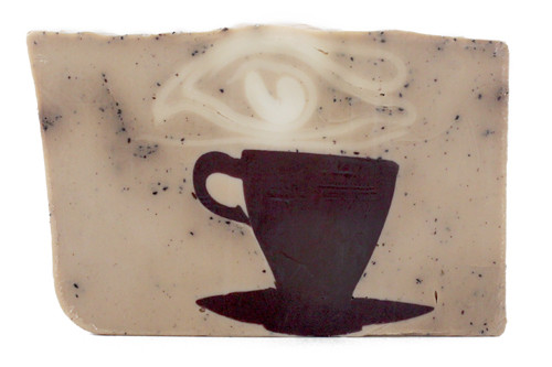 French Press Coffee vegetable glycerin soap