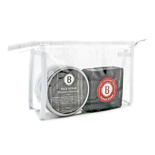 Bamboo Charcoal Face Care Bag