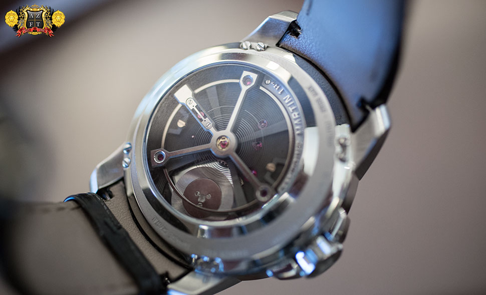 Antoine Martin Slow Runner Stainless Steel SR01.100.1