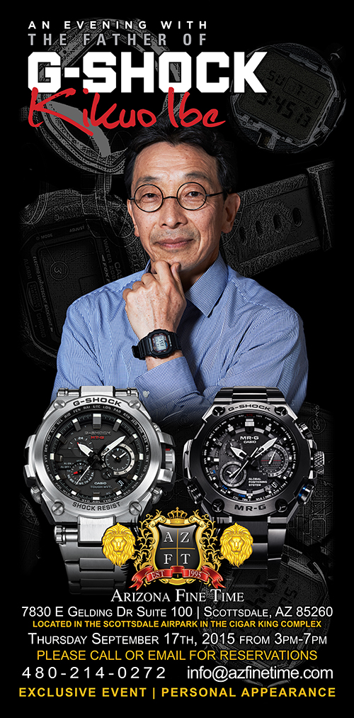 An Evening with the Father of G-Shock