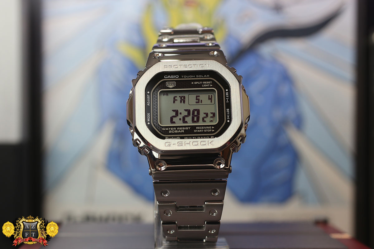 adab08577 Casio G-Shock GMW-B5000 Full Metal Review 2018 Exclusive Baselworld Release