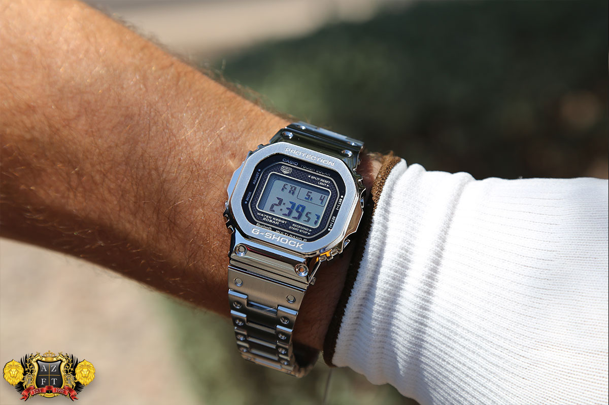 5e30d158740 Casio G-Shock GMW-B5000 Full Metal Review 2018 Exclusive Baselworld ...