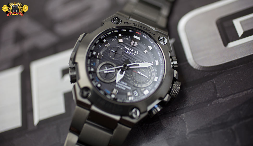 Casio G-Shock MR-G GPS Hybrid Wave Ceptor MRGG1000B-1A