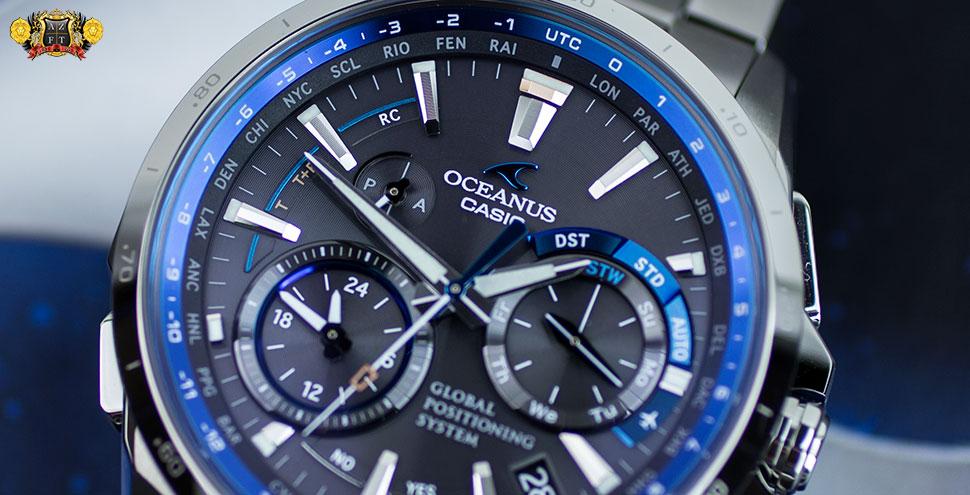 Casio Oceanus OCW-G1000 GPS Hybrid Wave Ceptor OCWG1000-1A