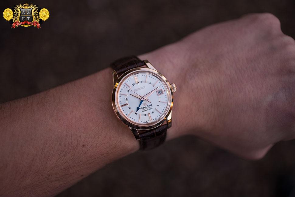 Grand Seiko Hi-Beat Special GMT 18k Pink Gold SBGJ010