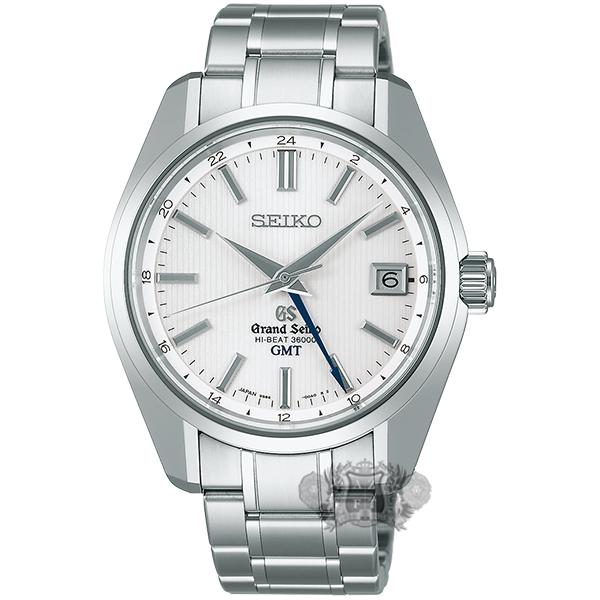 Grand Seiko Hi-Beat GMT Titanium SBGJ011