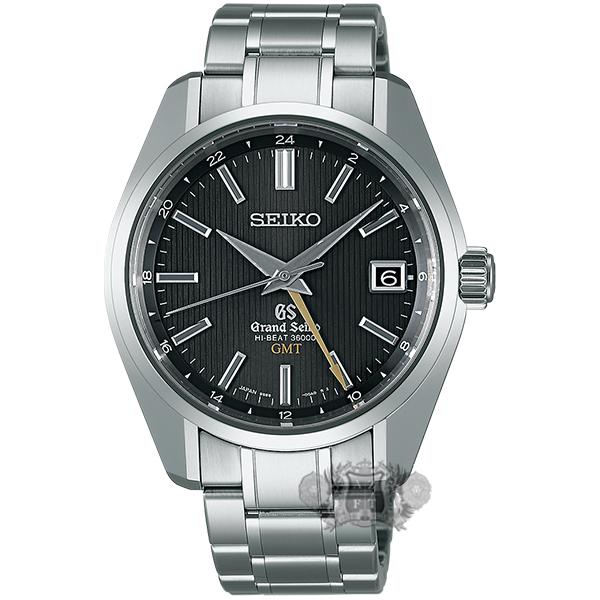 Grand Seiko Hi-Beat GMT Titanium SBGJ013