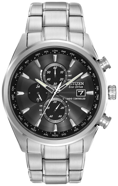 Citizen Eco-Drive World Chronograph A-T AT8010-58E