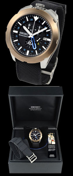 Seiko Spring Drive SpaceWalk Limited Edition SPS005