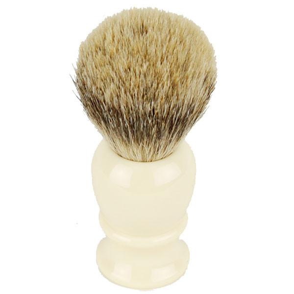 Hirsh Luxury Silvertip Badger Shaving Brush - Ivory (hl-sb15r)
