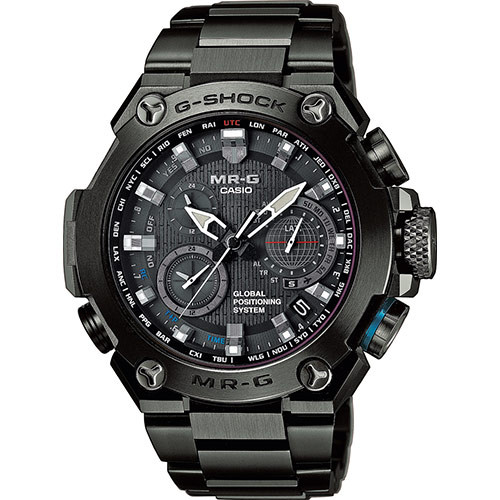 Casio G-Shock MR-G GPS Atomic Solar Hybrid  MRGG1000B-1A