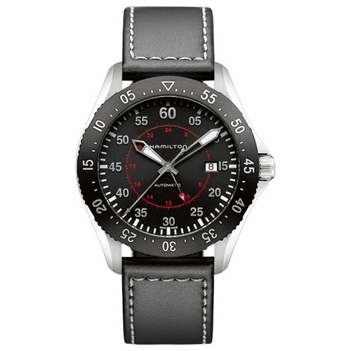 HAMILTON KHAKI AVIATION PILOT GMT AUTO H76755735