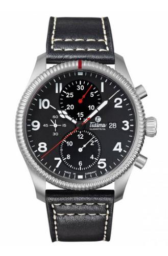 Tutima Glashutte Grand Flieger Classic Chronograph 6402-01