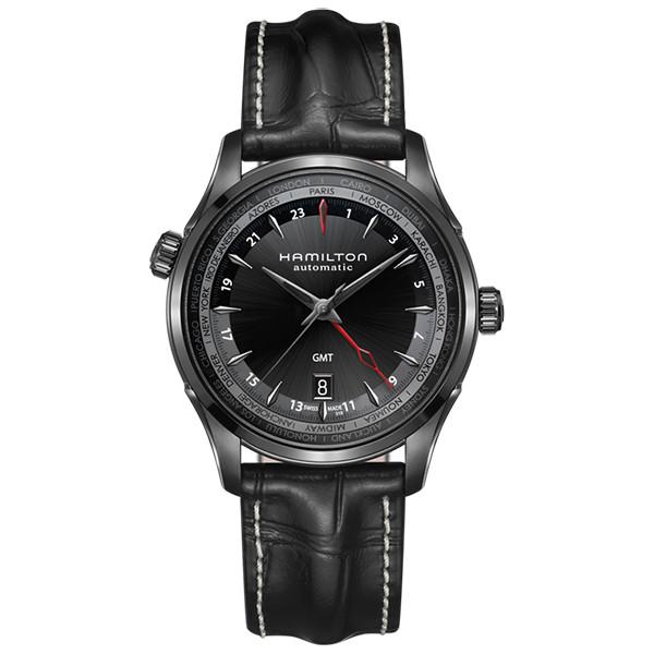 HAMILTON JAZZMASTER GMT FULL BLACK LIMITED EDITION H32685731