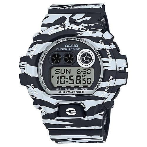 Casio G-Shock XL Tiger Camo Black & White GDX6900BW-1CR