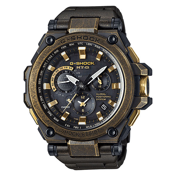 Casio MT-G Metal Twisted G-Shock GPS Hybrid MTG-G1000 MTGG1000BS-1A