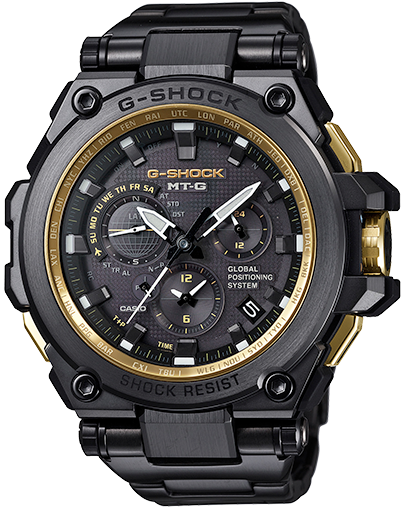 Casio MT-G Metal Twisted G-Shock GPS Hybrid MTG-G1000 MTGG1000GB-1A