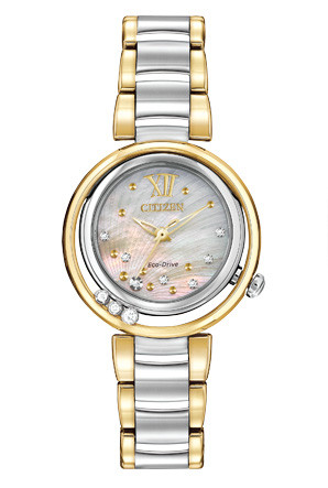 Citizen Ladies Eco-Drive L Series Sunrise EM0324-58D