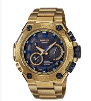 Casio G-Shock MR-G GPS Atomic Solar Hybrid MRG-G1000HG Gold Hammer Tone 20th Anniversary Edition