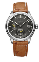 Eterna Adventic GMT Manufacture Automatic Grey Dial  REF: 7661.41.56.1352