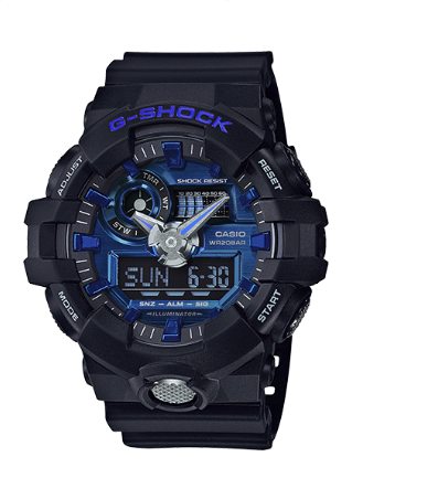 Casio G-Shock Super Illuminator GA710-1A2