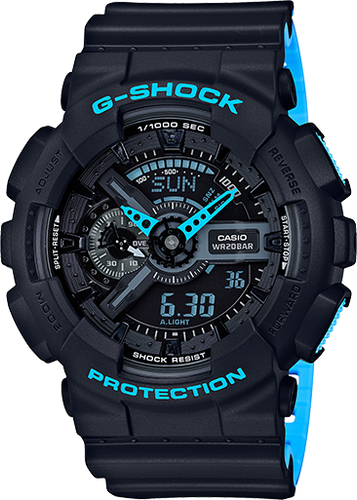 Casio G-Shock Ana-Digital 2-Tone GA110LN-1A