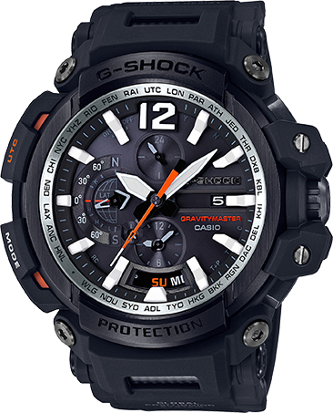Casio G-Shock Aviation GPS Hybrid Gravity Master Bluetooth GPW2000-1A