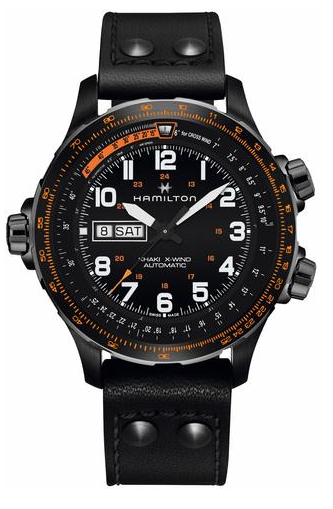 Hamilton KHAKI AVIATION X-WIND AUTO DAY DATE-H77785733