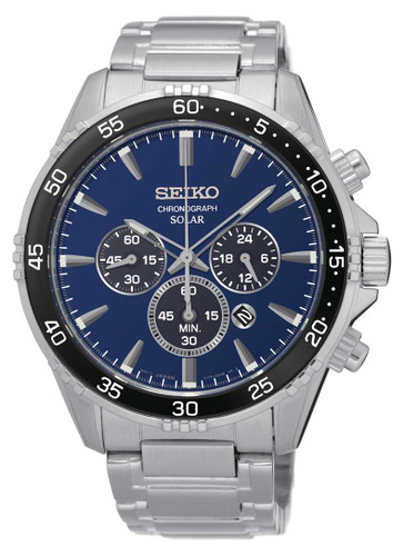 Seiko Men's Solar Chronograph SSC445