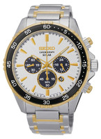 Seiko Men's Solar Chronograph SSC446