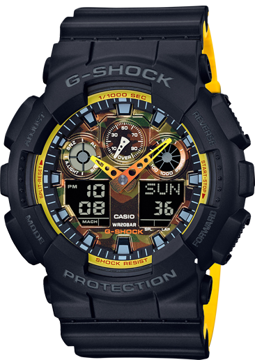 Casio G-Shock Ana-Digital GA100BY-1A