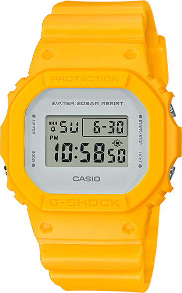 Casio G-Shock Classic Yellow Limited Edition DW5600CU-9
