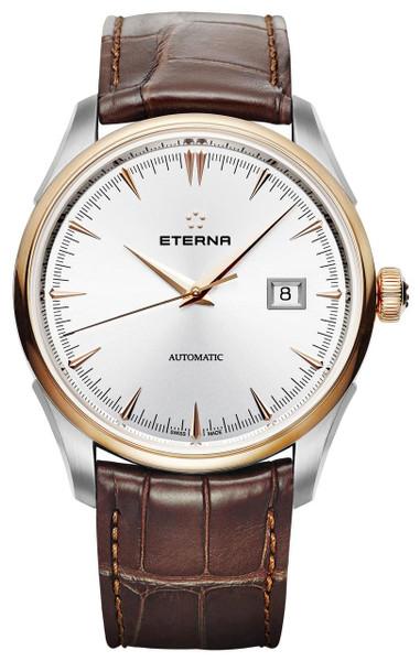 Eterna  1948 Legacy Date Steel/PVD Rose Gold Ref: 2951.53.11.1323